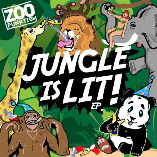 Zoofunktion jungle is lit ep desire2music net no for Jungle house music