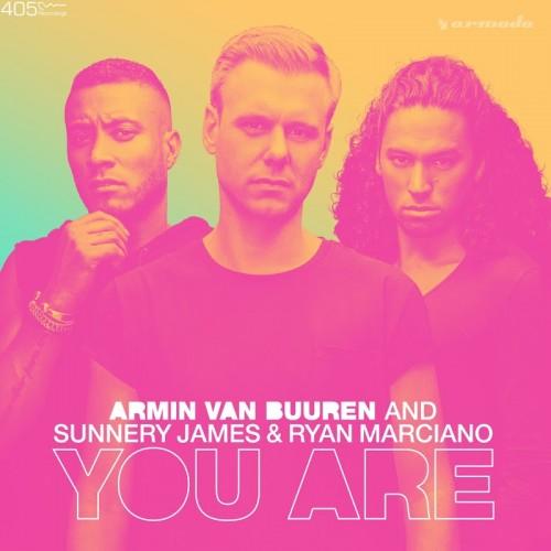 Armin-van-Buuren-Sunnery-James-Ryan-Marciano-You-Are Sunnery James & Ryan Marciano colaboran con Armin van Buuren en 'You Are'